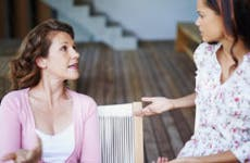 Mother and daughter having a disagreement © iStock