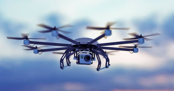 Drones as disaster claims adjusters © iStock