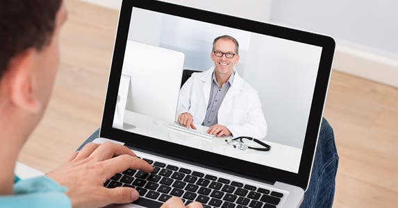 Telemedicine: The doctor is (virtually) in © iStock