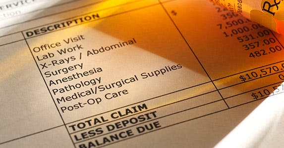 Lower your medical bills upfront © iStock