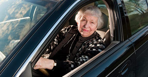 Senior drivers can save © iStock