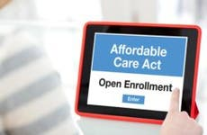 Affordable care act shown on iPad © iStock