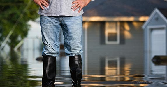 Ignoring your need for flood insurance | Vstock LLC/Getty Images