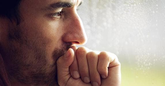 Close-up shot of pensive man with facial hair | PeopleImages/Getty Images