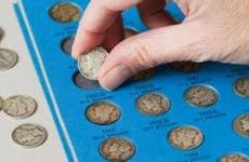 Old dime collection from 1940s | leezsnow/E+/Getty Images
