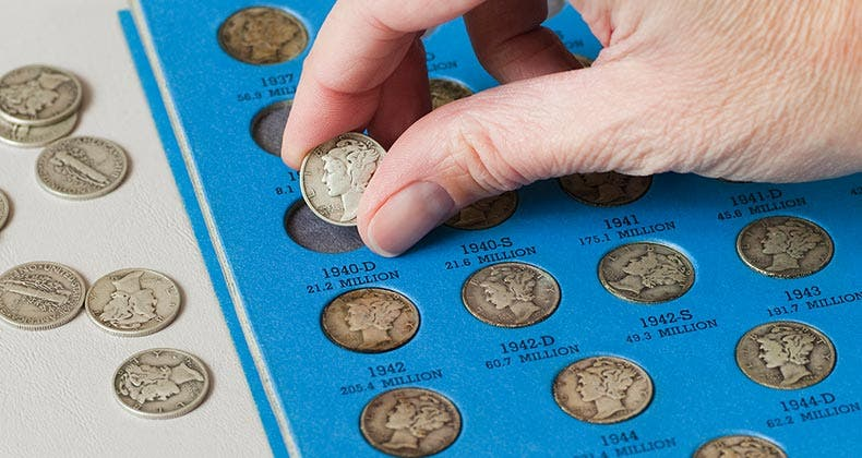 What Your Coin Collection Is Worth To Your Home Insurance