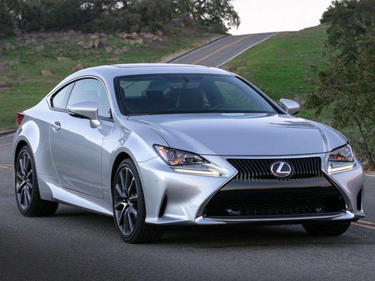 2017 Lexus RC (entry-level luxury car)