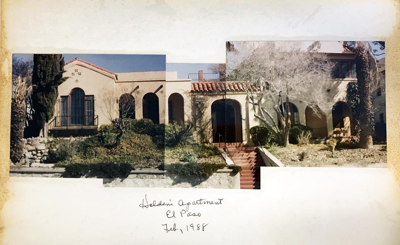 Holden's apartment, El Paso, Feb. 1988