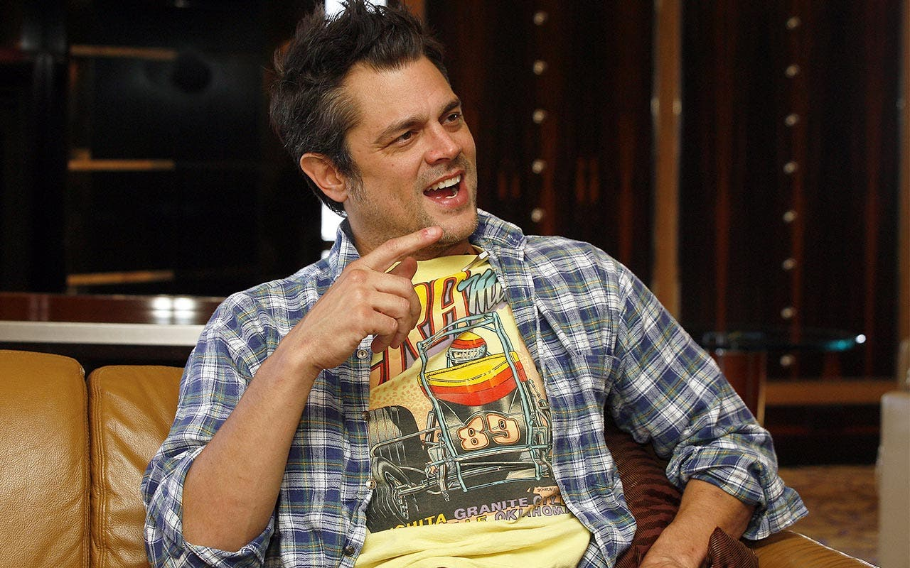 J Knoxville, looks like a talk show appearance