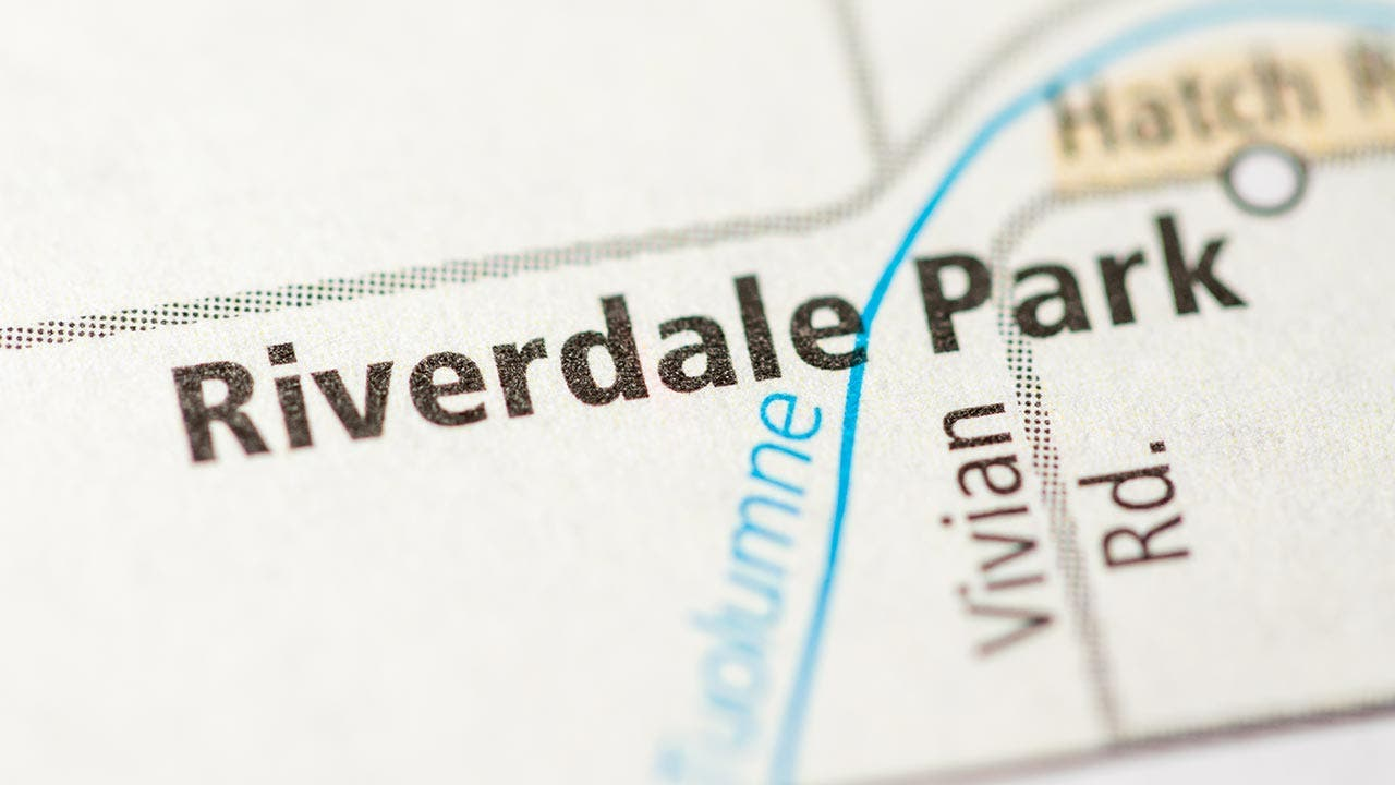 Map of Riverside, California