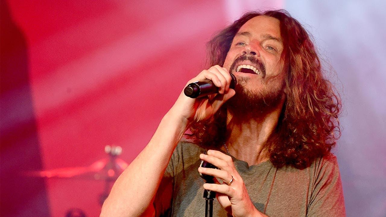 Chris Cornell sings