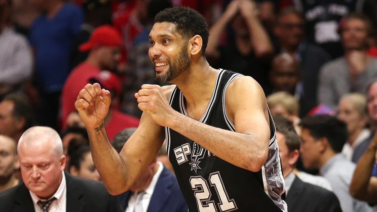 Tim Duncan Spurs