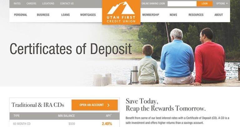 Utah Credit Union Tops Banks Best 5 Year Cds