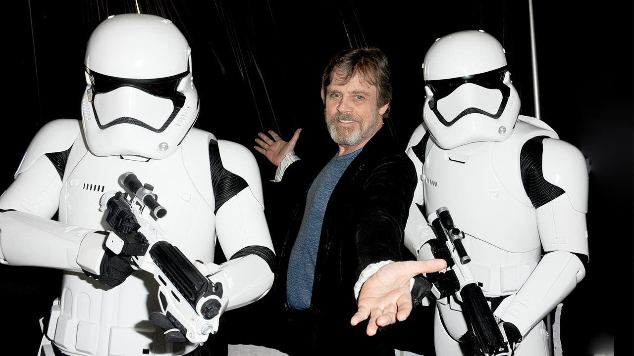 Mark Hamil Star Wars