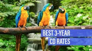 Best 3-year CD rates