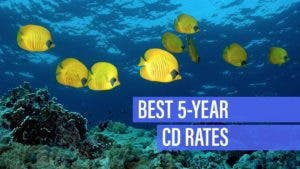 Best 5-year CD rates