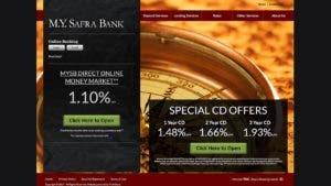 M.Y. Safra Bank CD rates