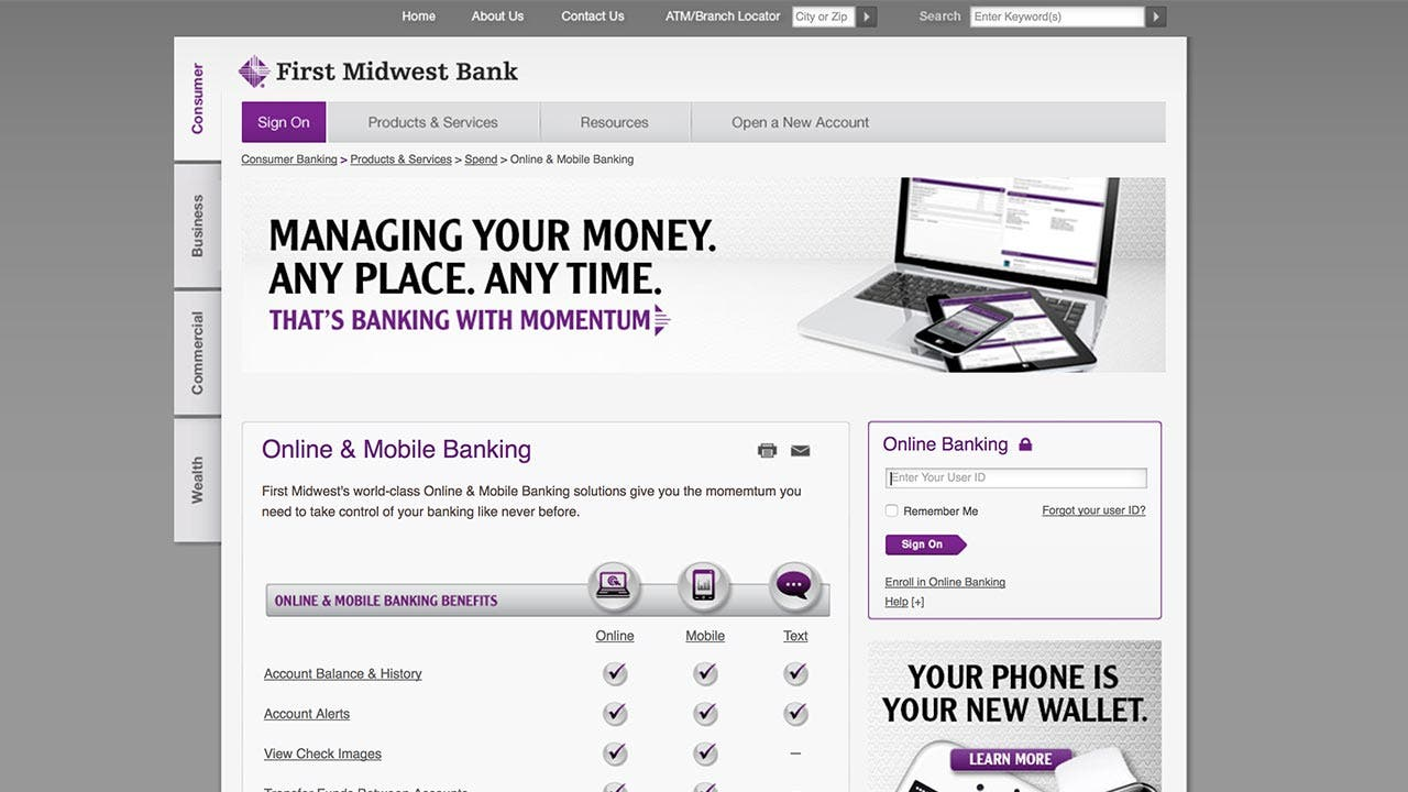 First Midwest Bank personal loan review