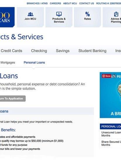 Mcu Credit Union >> Municipal Credit Union Personal Loans 2019 Comprehensive