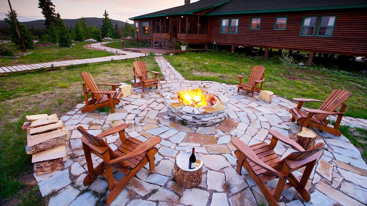 6. Build a fire pit