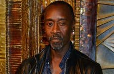 Don Cheadle in London