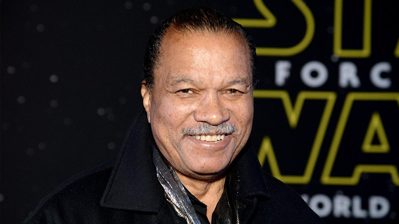 Billy Dee Williams Star Wars premiere