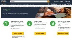 Amazon website image