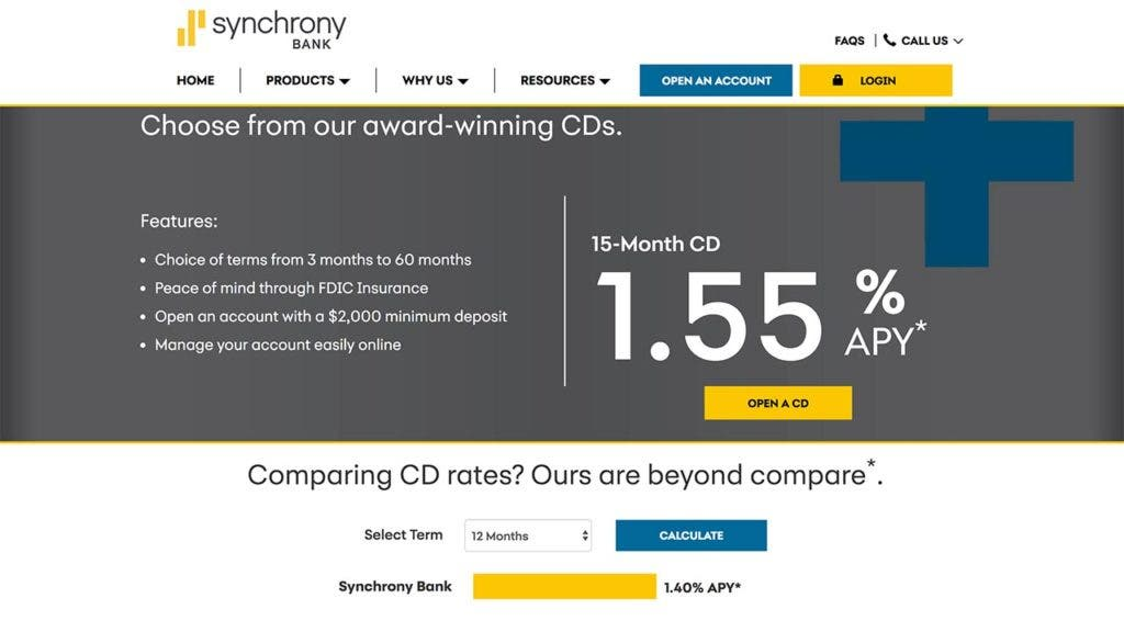 Short Term Savings Goal Check Out Synchrony Bank S 15 Month Cd