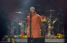 Liam Gallagher singing