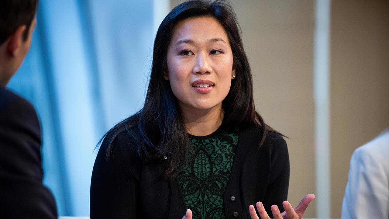 Priscilla Chan speaking