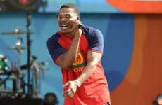 Nelly singing on Good Morning America