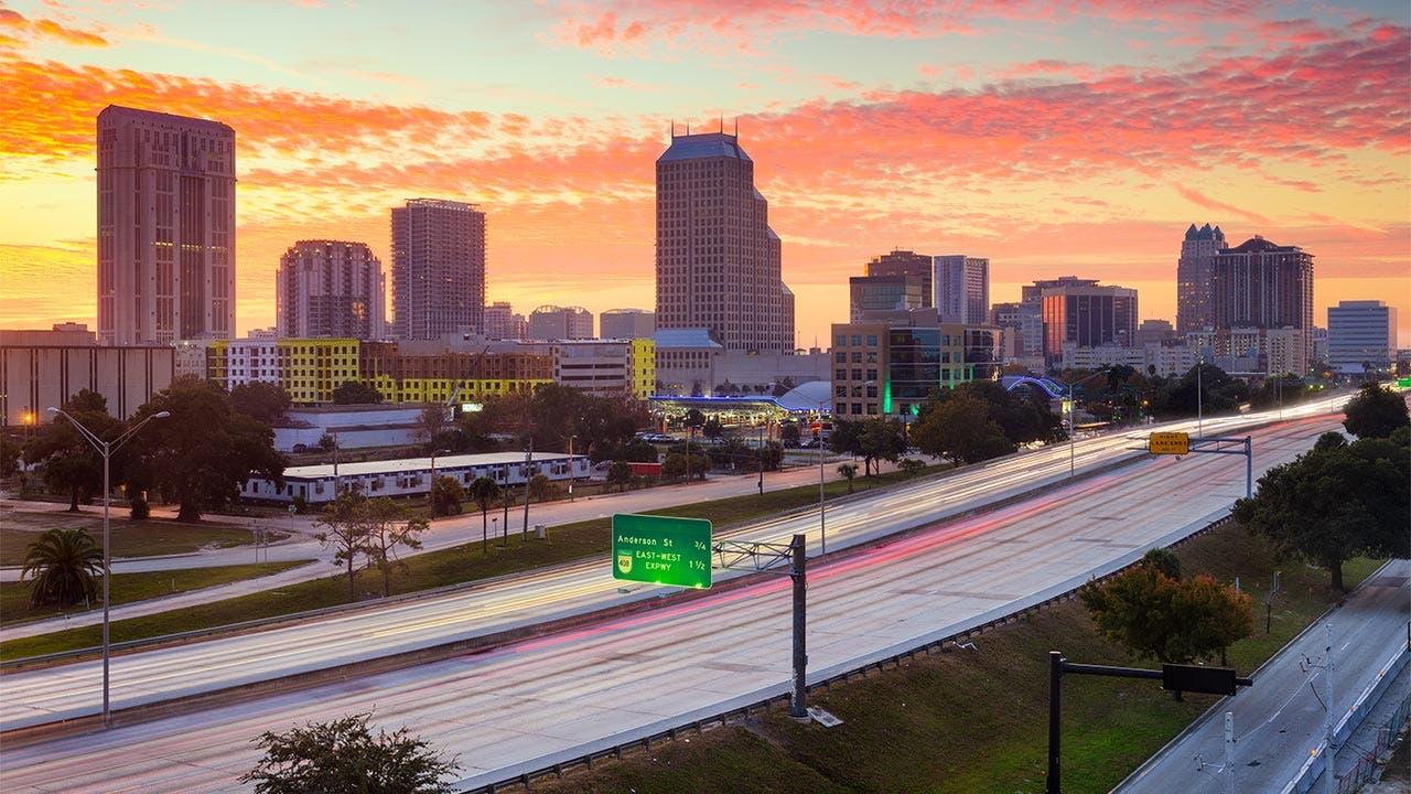 Orlando, Florida, skyline