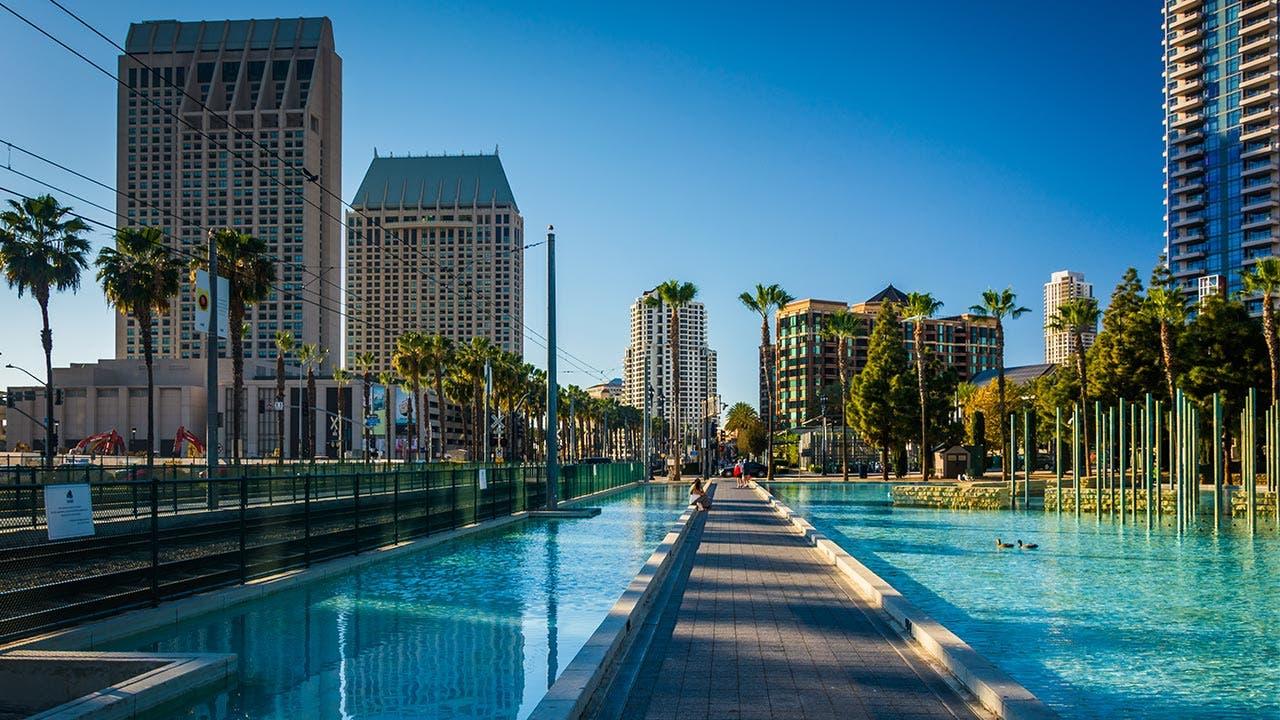 San Diego scene