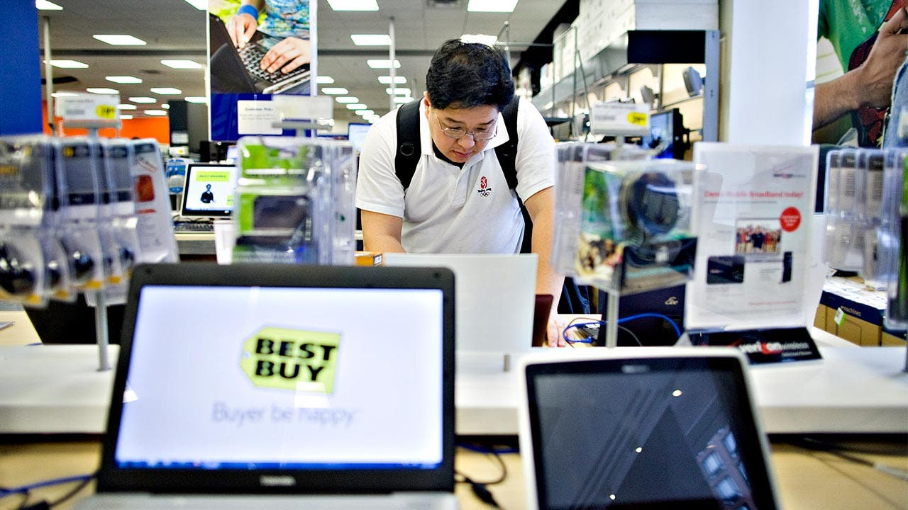 Laptops at Best Buy