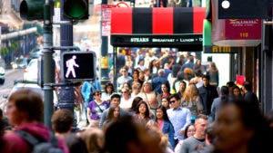 people walking in San Francisco