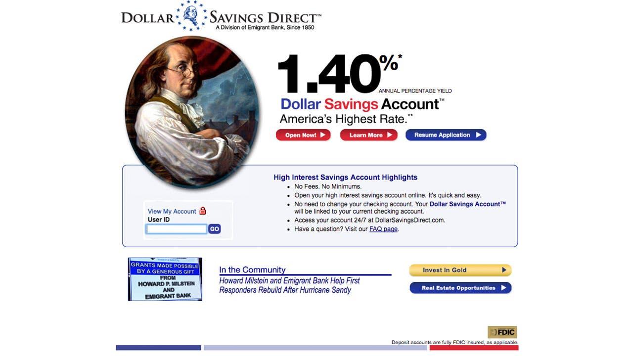 10 best savings account rates