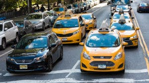 New York traffic taxis