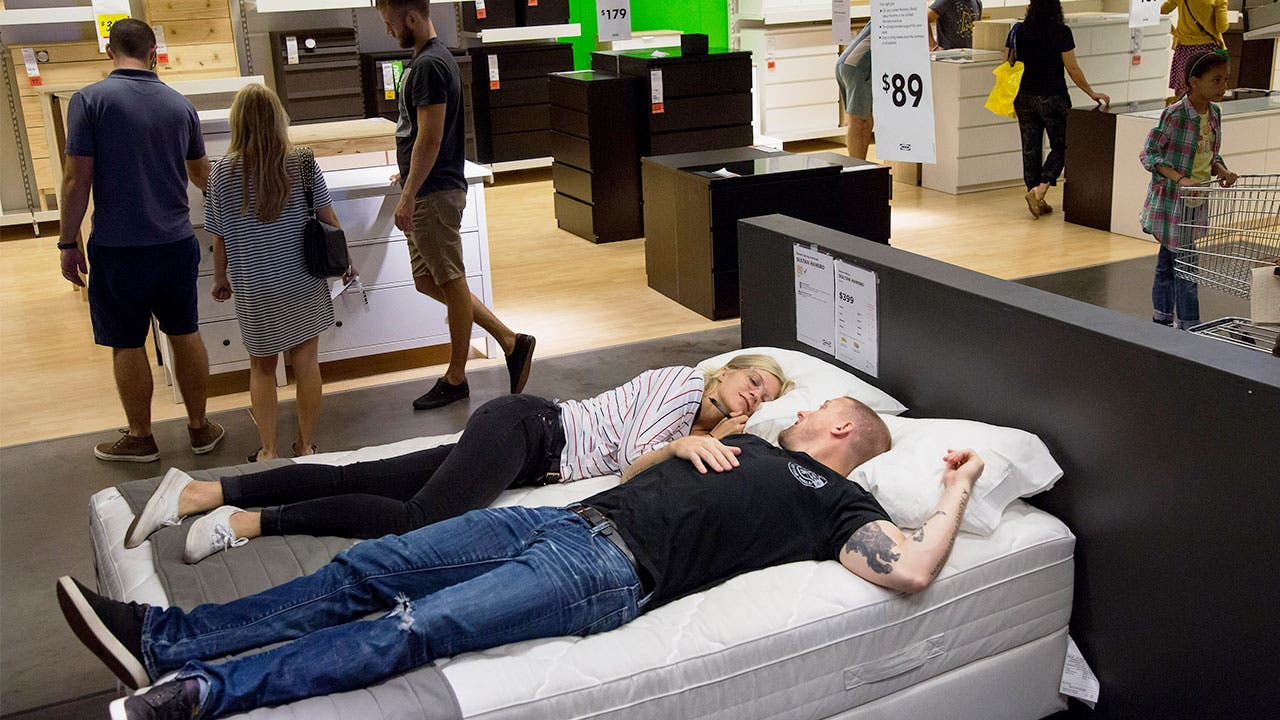 couple at ikea