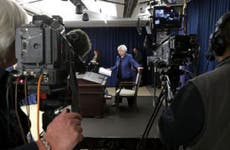 Janet Yellen before press conference