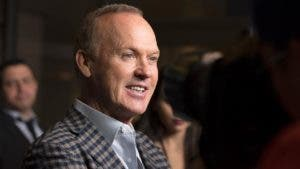 Michael Keaton on the red carpet