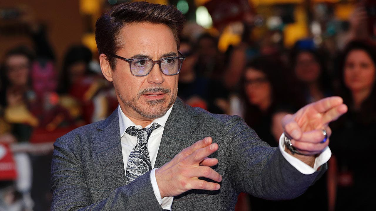 Robert Downey Jr on the red carpet