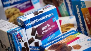 Weight watchers meal boxes