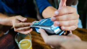 credit card chip transaction