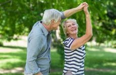 Seniors dancing outside | wavebreakmedia/Shutterstock.com