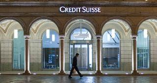 Credit Suisse © MARTIN RUETSCHI/Keystone/Corbis