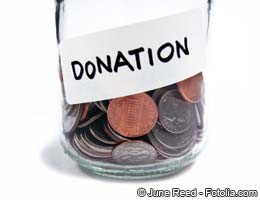 Charitable donations are tax deductible