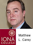 Matthew L. Carey, Iona College