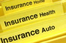Insurance policies in their own yellow folder © Kellis/Shutterstock.com