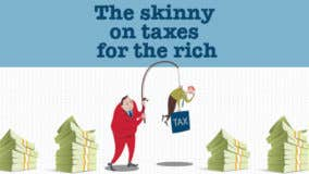 New tax rates for rich taxpayers