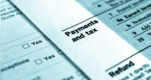 Payments and tax © Claudio Divizia/Shutterstock.com